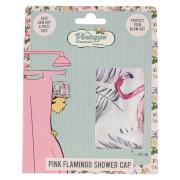 The Vintage Cosmetic Company Shower Cap - Flamingo