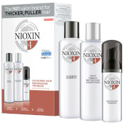 Купить NIOXIN 3-Part System 4 Loyalty Kit for Coloured Hair with Progressed Thinning