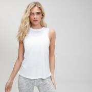 Camiseta con Sisas Caídas - Blanco