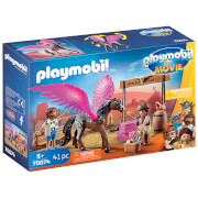 Playmobil: The Movie Marla And Del With Flying Horse (70074)