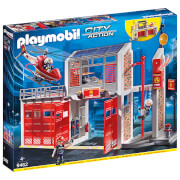 Playmobil City Action Fire Station With Fire Alarm (9462)