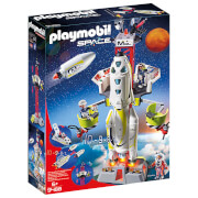 Playmobil Space Mission Rocket Launch Site with Lights and Sound (9488)