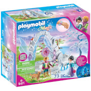 Playmobil Magic Crystal Gate To The Winter World With Lit Gate (9471)