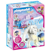 Playmobil Magic Yeti With Sleigh With Luminous Lantern (9473)