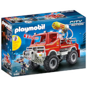 Playmobil City Action Fire Truck With Cable Winch And Foam Cannon (9466)