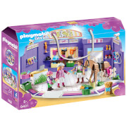 Playmobil City Life Horse Tack Shop With Wooden Horse (9401)
