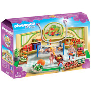 Playmobil City Life Grocery Shop with Fridge Counter (9403)