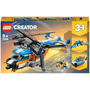 LEGO Creator: 3in1 Twin Rotor Helicopter Toy (31096)