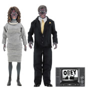 "NECA They Live - 8"" Clothed Action Figures - 2 Pack"