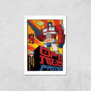 Transformers Roll Out Poster Art Print   A4   Print Only
