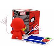 Kidrobot x Marvel Munnyworld Munny Spiderman DIY 4 inch Vinyl Figure
