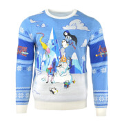 Adventure Time Festive Winter Kintted Christmas Jumper