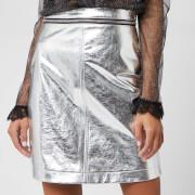 Philosophy di Lorenzo Serafini Women's Skirt - Nickel - IT 42/UK 10