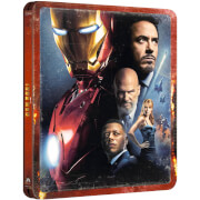 Iron Man - 4K Ultra HD (includes 2D Blu-ray) Zavvi Exclusive Steelbook