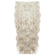 Beauty Works 22 Inch Beach Wave Double Hair Extension Set (Various Shades) - Iced Blonde