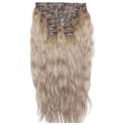Beauty Works 22 Inch Beach Wave Double Hair Extension Set (Various Shades) - Scandinavian Blonde