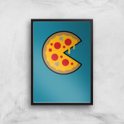 PIzza Art Print - A4 - No Hanger