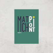 Match Point Art Print - A3 - Print Only