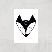 Fox Art Print - A4 - Print Only