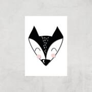 Fox Art Print - A3 - Print Only
