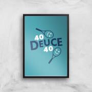 40 Deuce 40 Art Print - A3 - No Hanger