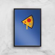 Pizza Slice Art Print - A4 - No Hanger