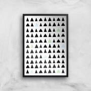 Triangles Art Print - A4 - No Hanger