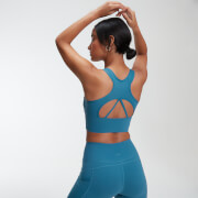 Power Longline Sports Bra - Stargazer