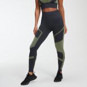 Legging Sans Couture Impact - Gris Ardoise - XL