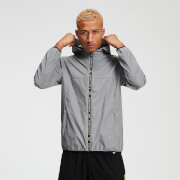 MP Men's Training Reflective Jacket - Silver