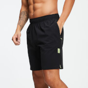 MP Training Men's Stretch Woven 9 Inch Shorts - Black