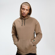 Sudadera con Capucha Tape Rest Day - Camel
