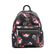 Loungefly Star Wars Black Rose Darth Vader Backpack