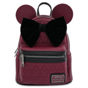 Loungefly Disney Minnie Mouse Faux Leather Mini Backpack