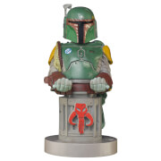 Star Wars Collectible Boba Fett 8 Inch Cable Guy Controller and Smartphone Stand