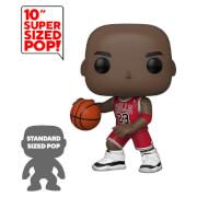 NBA Chicago Bulls Michael Jordan (Red Jersey) 10-Inch Pop! Vinyl Figure