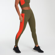 Legging Power - Avocat/Orange - XS