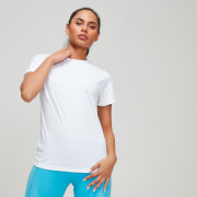 MP Textured Training Women's Oversized T-Shirt - Vit