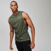 MP Men's Rest Day Drop Armhole Tank Top - Army Green - XXL