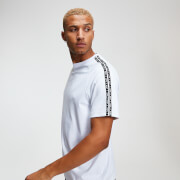 T-Shirt Tricot Double Bande - Blanc - S