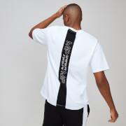 T-shirt graphique à rayures MP Rest Day pour homme - Blanc - XL