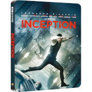 Exclusivité Zavvi : Steelbook Inception – 4K Ultra HD (Blu-ray 2D Inclus)