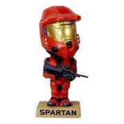Funko Wacky Wobbler Halo 3 Spartan Soldier (Red) SDCC 2008 Exclusive