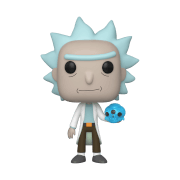 Rick and Morty Rick Skull Pop! Vinyl Figure