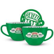 Friends (Central Perk - Green) Capuccino Mug & Stencil