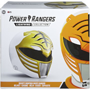 Power Rangers Lightning Collection Casque Ranger blanc Mighty Morphin