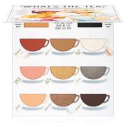 thebalm what's the tea? hot tea eyeshadow palette