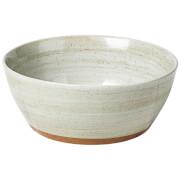 Broste Copenhagen Grod Stoneware Bowl - Sand (Set of 4)