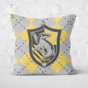 Harry Potter Hufflepuff Square Cushion - 40x40cm - Soft Touch