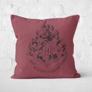 Harry Potter Hogwarts Square Cushion - 60x60cm - Soft Touch